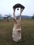 Dubová zvonice, bez nátěru, cena 9. 500,-Kč