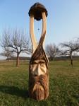 Zvonička, materiál dub, orientační cena 12.000,-Kč