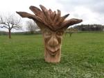 Pařez , materiál dub, přibližná cena 7.000,-Kč.