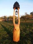 Dubová zvonička s lucerničkou, orientační cena 9.000,-Kč