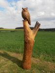 Výr. Materiál dub. Výška 170cm. Cena 11.000,-Kč