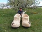 Dubové boty. Délka 120cm. Cena 10.000,-Kč.